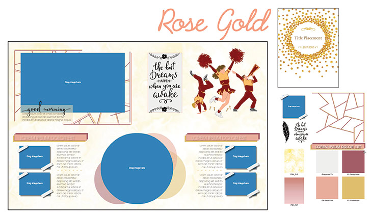 Gold-Yearbook-Theme