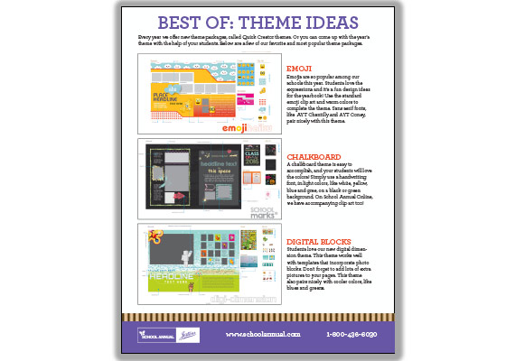 A list of some of our favorite theme ideas
