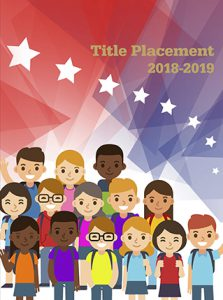 classroom, patriotic, USA, elementary school yearbook cover