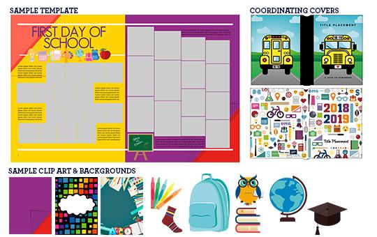 school yearbook theme, school house yearbook theme, middle school yearbook theme, elementary school yearbook theme