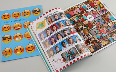 Portraits on Pages in 1, 2, 3